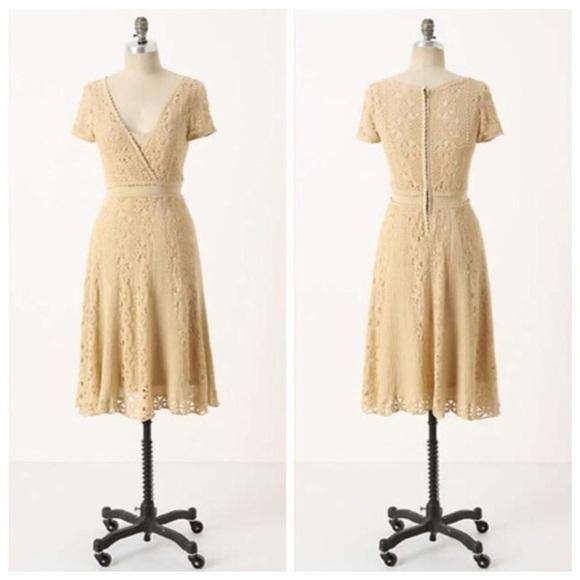 Anthropologie Dresses & Skirts - Anthropologie Moth•Crochet Cloud Dress